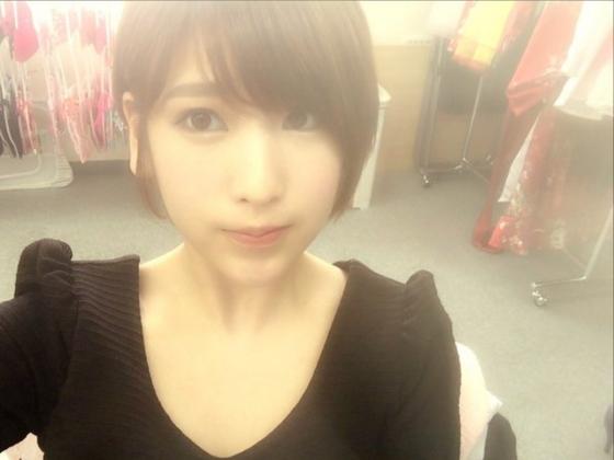 夏目花実 Twitterに投稿したBカップ水着姿の自画撮り 画像30枚 23
