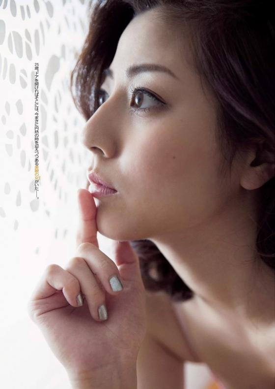 杉本有美 下着姿の手ブラセミヌードグラビア 画像81枚 12