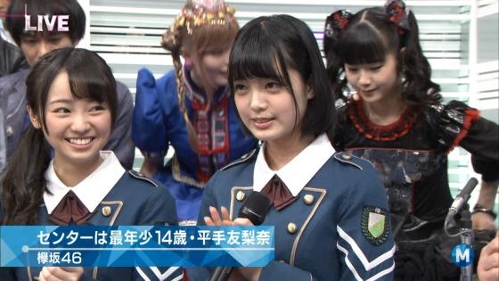 平手友梨奈 Mステの欅坂46中学生センター美少女キャプ 画像30枚 12