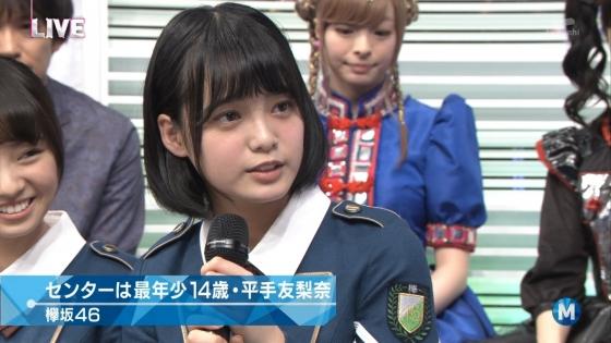 平手友梨奈 Mステの欅坂46中学生センター美少女キャプ 画像30枚 15