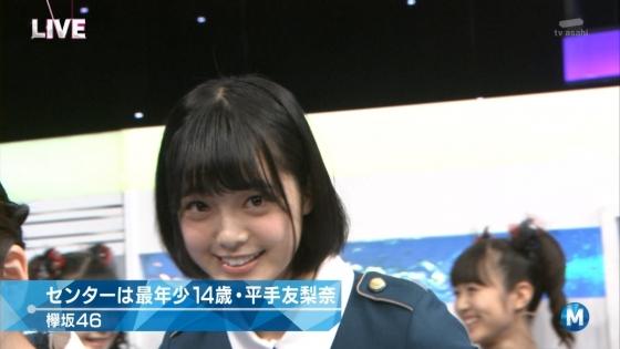 平手友梨奈 Mステの欅坂46中学生センター美少女キャプ 画像30枚 17