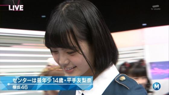 平手友梨奈 Mステの欅坂46中学生センター美少女キャプ 画像30枚 18
