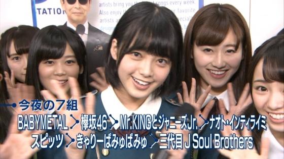 平手友梨奈 Mステの欅坂46中学生センター美少女キャプ 画像30枚 3