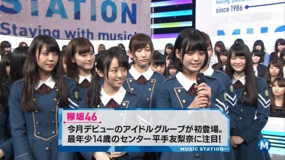 平手友梨奈 Mステの欅坂46中学生センター美少女キャプ 画像30枚 5