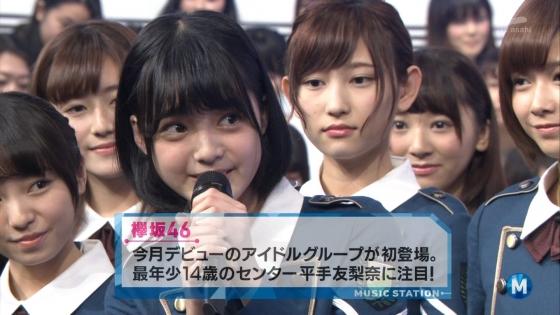 平手友梨奈 Mステの欅坂46中学生センター美少女キャプ 画像30枚 6