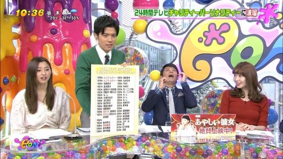小嶋陽菜 PON!のDカップ着衣巨乳キャプ 画像30枚 12