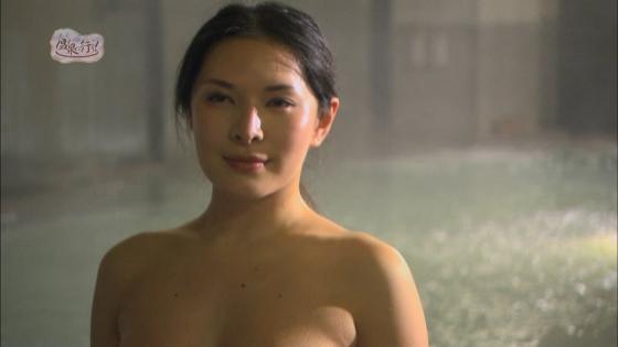 上杉智世 もっと温泉に行こう!のセミヌードお尻の割れ目キャプ 画像66枚 43