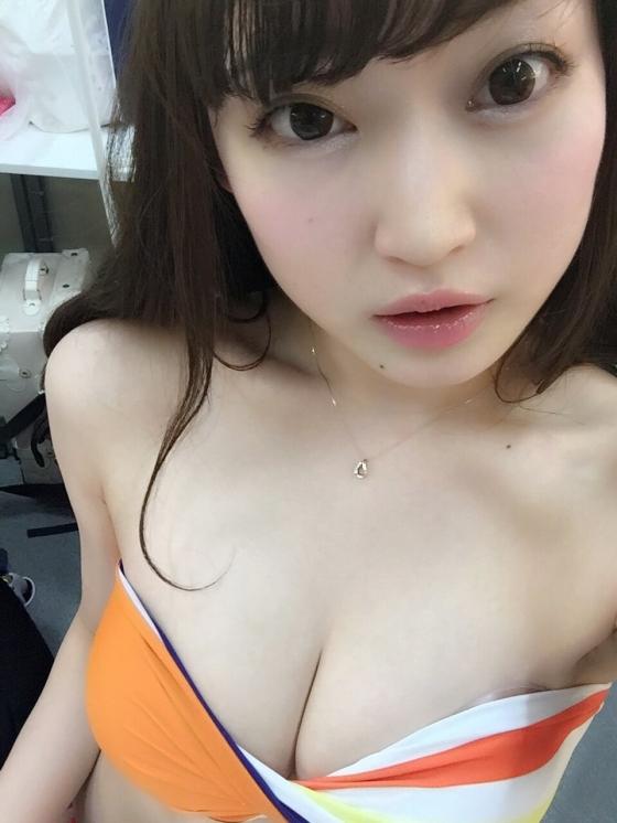 羽入悠栞 究極乙女のGカップ爆乳谷間キャプ 画像36枚 32