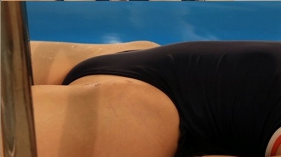 さいとう雅子 斉藤雅子時代の競泳水着股間食い込みキャプ 画像81枚 11