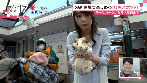 宇垣美里 Gカップ着衣巨乳をリスに狙われたキャプ 画像30枚 3