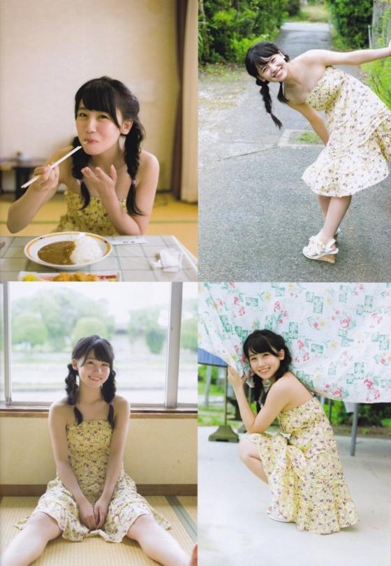 小嶋真子 たぬき顔が可愛いBカップ水着グラビア 画像26枚 13