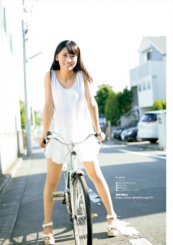 小嶋真子 たぬき顔が可愛いBカップ水着グラビア 画像26枚 26