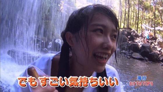 加藤里保菜 ランク王国滝行の透けブラキャプ 画像22枚 18