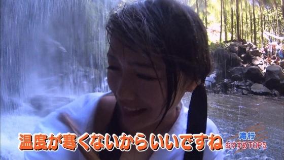 加藤里保菜 ランク王国滝行の透けブラキャプ 画像22枚 19