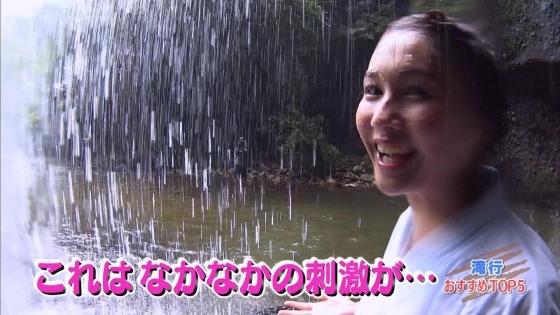 加藤里保菜 ランク王国滝行の透けブラキャプ 画像22枚 4