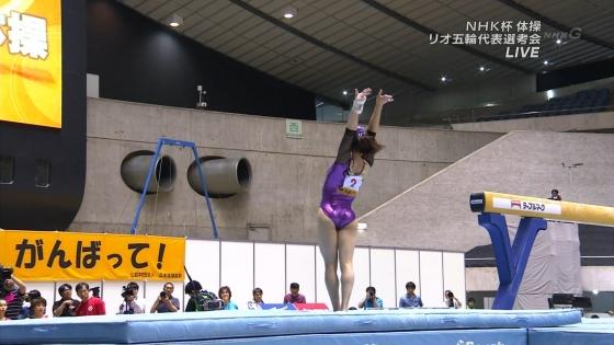 女子体操選手 筋肉とパンティラインキャプ 画像32枚 29