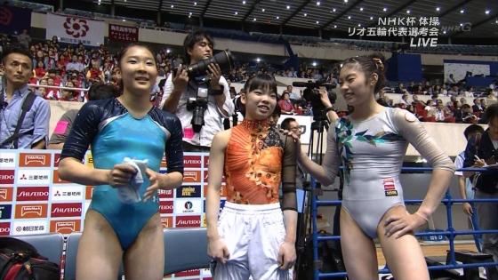 女子体操選手 筋肉とパンティラインキャプ 画像32枚 32