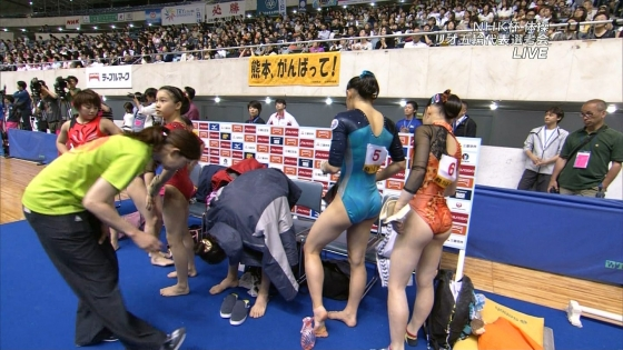 女子体操選手 筋肉とパンティラインキャプ 画像32枚 7