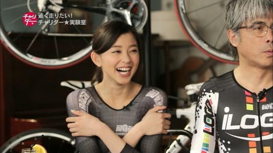 朝比奈彩 チャリダーの自転車用エアロスーツ姿キャプ 画像21枚 2
