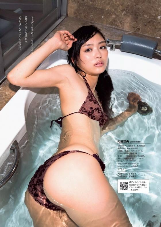 内田理央 FLASHのCカップ谷間&美尻食い込みグラビア 画像24枚 8