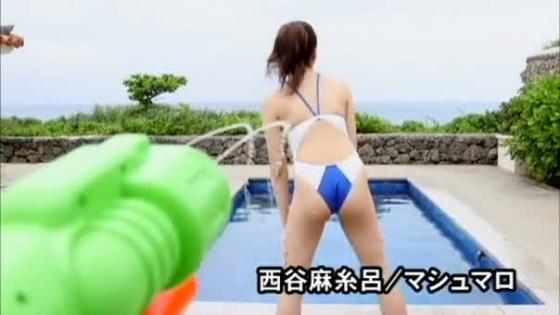 西谷麻糸呂 マシュマロのFカップ巨乳とお尻食い込みキャプ 画像56枚 8