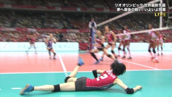 女子アスリート 女子バレーボール日本代表のちょいエロキャプ 画像32枚 10
