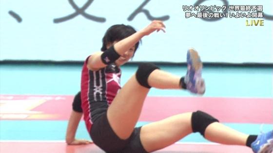 女子アスリート 女子バレーボール日本代表のちょいエロキャプ 画像32枚 14