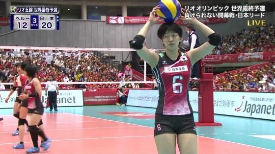 女子アスリート 女子バレーボール日本代表のちょいエロキャプ 画像32枚 15