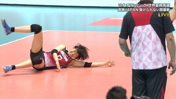 女子アスリート 女子バレーボール日本代表のちょいエロキャプ 画像32枚 21