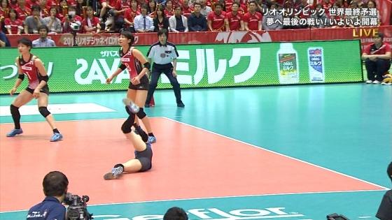 女子アスリート 女子バレーボール日本代表のちょいエロキャプ 画像32枚 25
