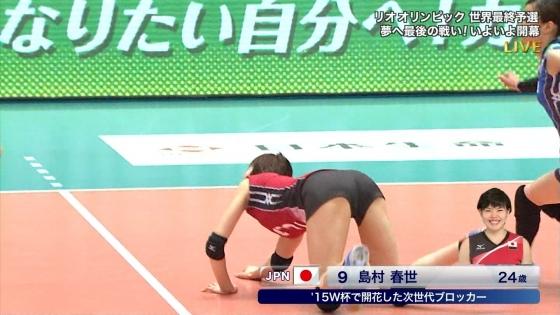 女子アスリート 女子バレーボール日本代表のちょいエロキャプ 画像32枚 28
