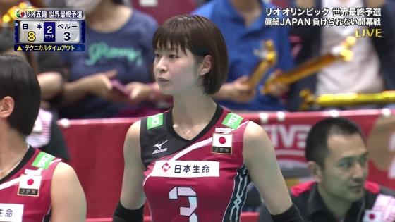 女子アスリート 女子バレーボール日本代表のちょいエロキャプ 画像32枚 5