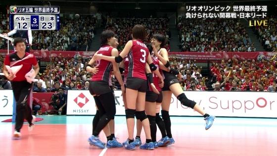 女子アスリート 女子バレーボール日本代表のちょいエロキャプ 画像32枚 8