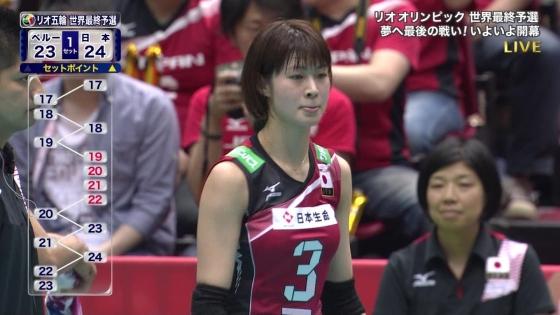 女子アスリート 女子バレーボール日本代表のちょいエロキャプ 画像32枚 9