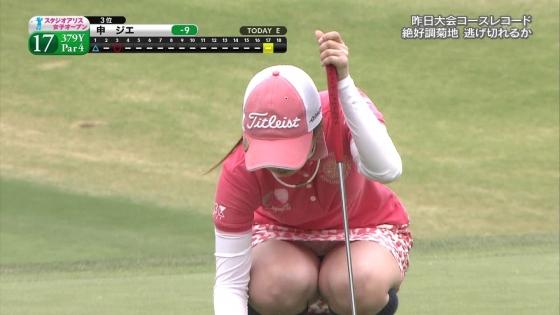 女子プロゴルフ 着衣巨乳やパンチラが悩ましいキャプ 画像32枚 10