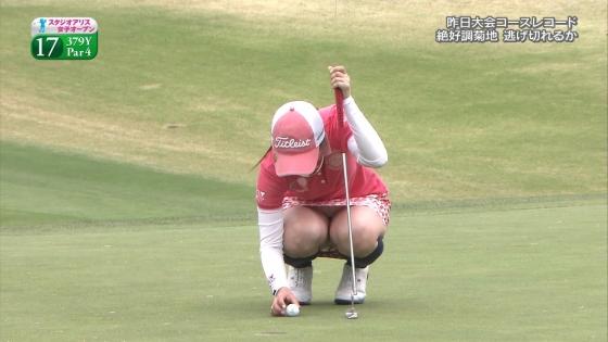 女子プロゴルフ 着衣巨乳やパンチラが悩ましいキャプ 画像32枚 12