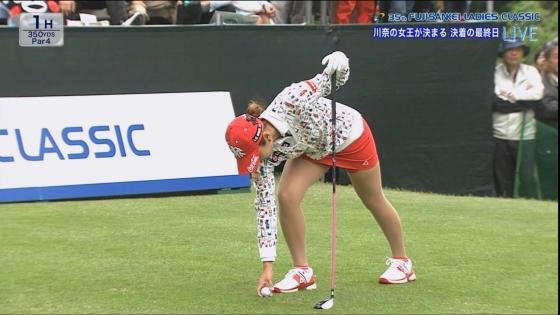 女子プロゴルフ 着衣巨乳やパンチラが悩ましいキャプ 画像32枚 13
