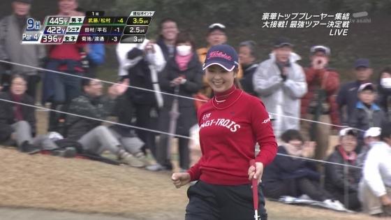 女子プロゴルフ 着衣巨乳やパンチラが悩ましいキャプ 画像32枚 16