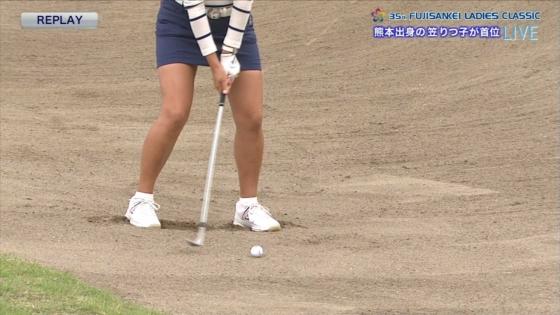 女子プロゴルフ 着衣巨乳やパンチラが悩ましいキャプ 画像32枚 20