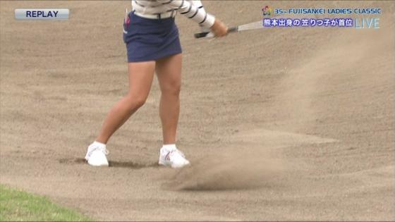 女子プロゴルフ 着衣巨乳やパンチラが悩ましいキャプ 画像32枚 21