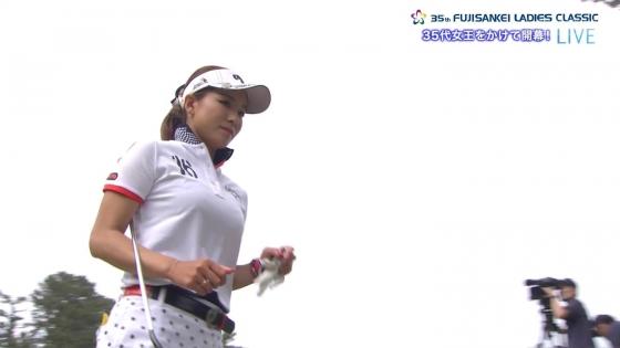 女子プロゴルフ 着衣巨乳やパンチラが悩ましいキャプ 画像32枚 23