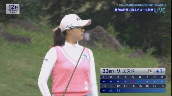 女子プロゴルフ 着衣巨乳やパンチラが悩ましいキャプ 画像32枚 24