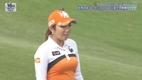 女子プロゴルフ 着衣巨乳やパンチラが悩ましいキャプ 画像32枚 3