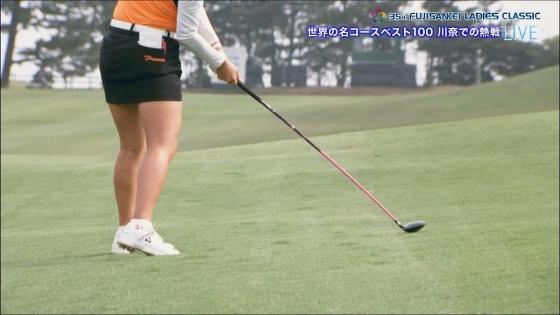 女子プロゴルフ 着衣巨乳やパンチラが悩ましいキャプ 画像32枚 4