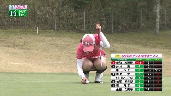女子プロゴルフ 着衣巨乳やパンチラが悩ましいキャプ 画像32枚 7
