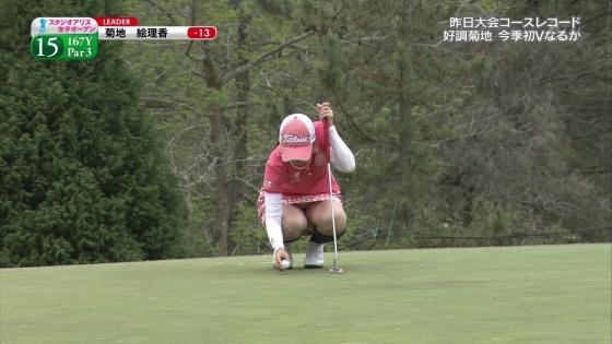 女子プロゴルフ 着衣巨乳やパンチラが悩ましいキャプ 画像32枚 9
