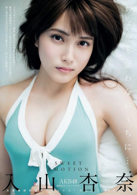 入山杏奈 漫画アクションの最新水着グラビア 画像30枚 15