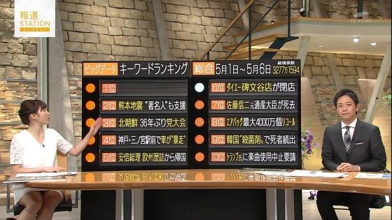 久冨慶子 報道ステーションのパンチラ寸前太ももキャプ 画像30枚 10