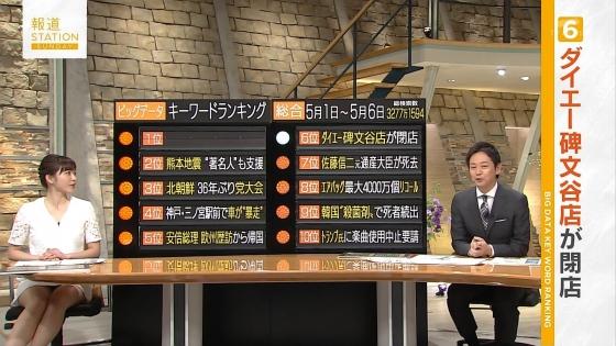 久冨慶子 報道ステーションのパンチラ寸前太ももキャプ 画像30枚 14