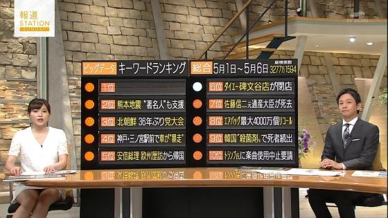 久冨慶子 報道ステーションのパンチラ寸前太ももキャプ 画像30枚 15